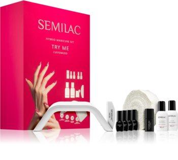 Semilac Paris UV Hybrid Try Me Set für die perfekte Maniküre