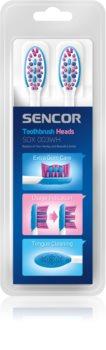 Sencor SOX 003WH têtes de remplacement pour brosse à dents