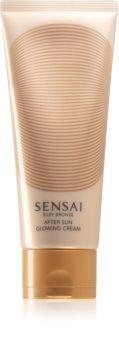 Sensai Silky Bronze After Sun Glowing Cream napozókrém a bőr öregedése ellen