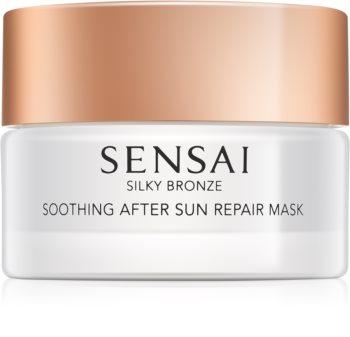 Sensai Silky Bronze beruhigende und hydratisierende Maske nach dem Sonnen