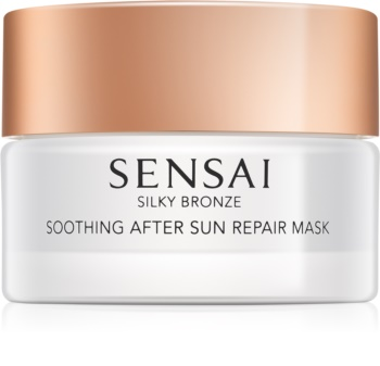 Sensai Silky Bronze Kalmerende en Hydraterende Masker  After Sun