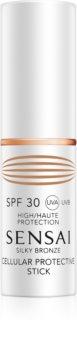 Sensai Silky Bronze ochranná tyčinka na citlivé miesta SPF 30