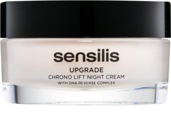 Sensilis Upgrade Chrono Lift liftinges éjszakai krém az arc kontúrjának megerősítésére
