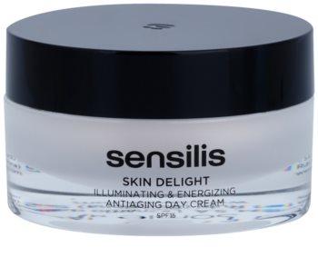 Sensilis Skin Delight krema proti gubam za posvetlitev in vitalnost kože SPF 15
