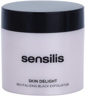 Sensilis Skin Delight piling z aktivnim ogljem za posvetlitev kože