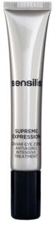 Sensilis Supreme Expression tratamiento antiarrugas, antiojeras y antibolsas para contorno de ojos