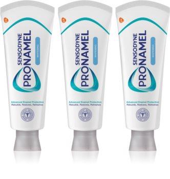 Sensodyne Pro-Schmelz Whitening bleichende Zahnpasta für empfindliche Zähne