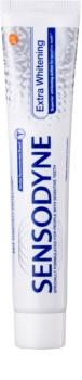 Sensodyne Extra Whitening отбеливающая зубная паста с фтором для чувствительных зубов
