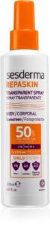 Sesderma Repaskin липозомален защитен спрей SPF 50