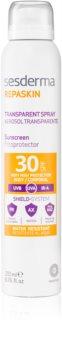 Sesderma Repaskin átlátszó napozó spray SPF 30