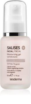 Sesderma Salises зволожуючий гель для жирної шкіри зі схильністю до акне