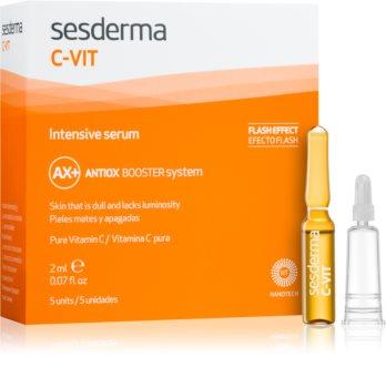 Sesderma C-Vit serum rozjaśniające i odnawiające dające natychmiastowy efekt