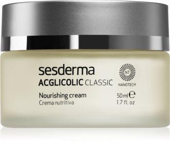 Sesderma Acglicolic Classic Facial подхранващ подмладяващ крем за суха или много суха кожа
