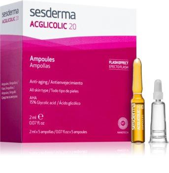 Sesderma Acglicolic 20 Facial siero antirughe effetto scrub