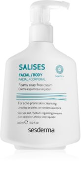 Sesderma Salises gel detergente per viso e corpo