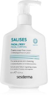 Sesderma Salises почистващ гел  за лице и тяло