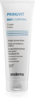 Sesderma Primuvit creme corporal hidratante para pele atópica