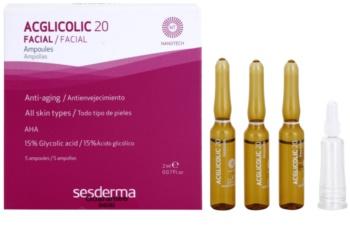Sesderma Acglicolic 20 Facial сироватка проти зморшок з ефектом пілінгу