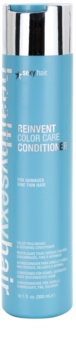 Sexy Hair Healthy condicionador para revitalizar as cores de cabelo danificados