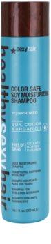 Sexy Hair Healthy Champô hidratante para proteção da cor sem sulfatos e parabenos