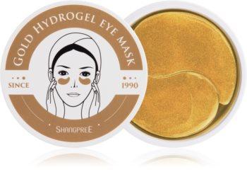 Shangpree Gold Hydrogel hydrogelová maska na oční okolí s regeneračním účinkem