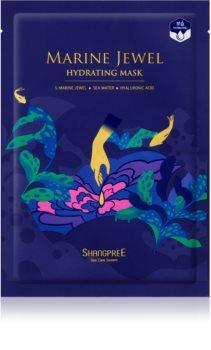 Shangpree Marine Jewel Moisturising face sheet mask