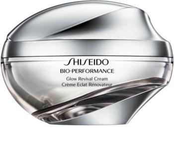 Shiseido Bio-Performance Glow Revival Cream multiaktivna krema proti gubam za posvetlitev in zgladitev kože