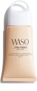 Shiseido Waso Color-Smart Day Moisturizer хидратиращ дневен крем за уеднаквяване цвета на кожата SPF 30