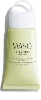 Shiseido Waso Color-Smart Day Moisturizer nawilżający krem na dzień tonizujący koloryt skóry nie zawiera oleju