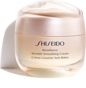 Shiseido Benefiance Wrinkle Smoothing Cream krem przeciwzmarszczkowy na dzień i na noc do wszystkich rodzajów skóry