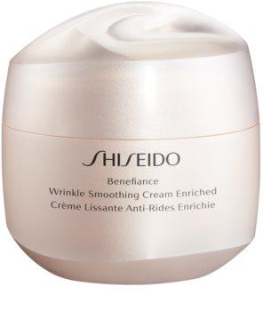 Shiseido Benefiance Wrinkle Smoothing Cream Enriched nappali és éjszakai krém ráncok ellen (száraz bőrre)