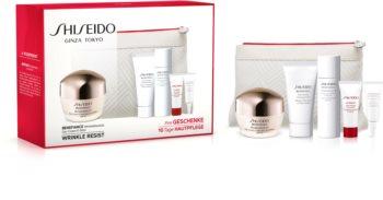 Shiseido Benefiance WrinkleResist24 Day Cream kozmetika szett II. (a bőröregedés ellen) hölgyeknek