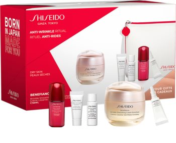 Shiseido Benefiance Wrinkle Smoothing Cream Enriched dárková sada II. pro ženy