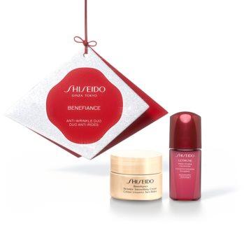 Shiseido Benefiance Wrinkle Smoothing Cream set (protiv bora)