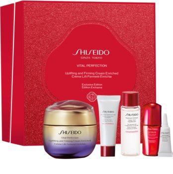 Shiseido Vital Perfection Uplifting & Firming Cream Enriched подаръчен комплект I. за жени