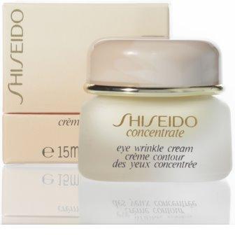 Shiseido Concentrate Eye Wrinkle Cream крем проти зморшок для шкіри навколо очей