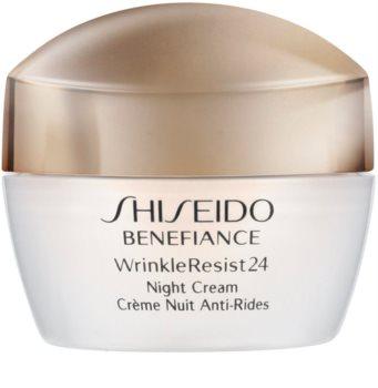 Shiseido Benefiance WrinkleResist24 Night Cream nočný hydratačný krém proti vráskam