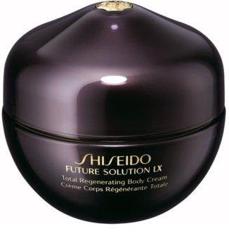 Shiseido Future Solution LX Total Regenerating Body Cream crème pour le corps raffermissante pour une peau douce et lisse