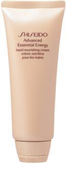 Shiseido Advanced Essential Energy Hand Nourishing Cream crema rivitalizzante per le mani