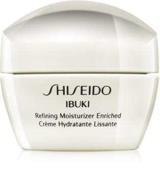 Shiseido Ibuki Refining Moisturizer Enriched crema calmanta si hidratanta pentru netezirea pielii si inchiderea porilor