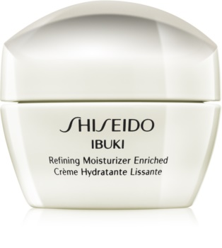 Shiseido Ibuki Refining Moisturizer Enriched crema hidratante y calmante para alisar la piel y minimizar los poros