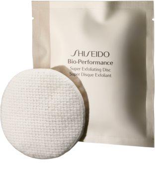 Shiseido Bio-Performance Super Exfoliating Disc discos de limpeza esfoliantes para rejuvenescimento da pele