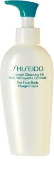 Shiseido Sun Care Ultimate Cleansing Oil tisztító olaj napozás után