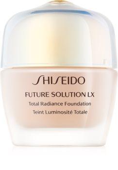 Shiseido Future Solution LX Total Radiance Foundation fiatalító make-up SPF 15