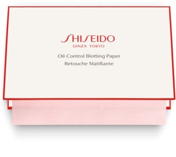 Shiseido Generic Skincare Oil Control Blotting Paper bibułki matujące do skóry tłustej i mieszanej