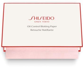 Shiseido Generic Skincare Oil Control Blotting Paper hartii matifiante pentru ten gras și mixt