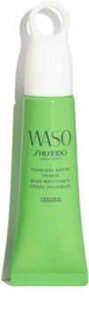 Shiseido Waso Poreless Matte Primer матираща основа под фон дьо тен