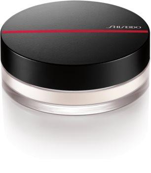 Shiseido Synchro Skin Invisible Silk Loose Powder транспарентна пудра на прах за озаряване на лицето