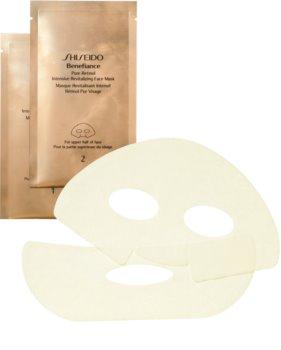 Shiseido Benefiance Pure Retinol Intensive Revitalizing Face Mask Anti-Aging Gesichtsmaske mit Retinol