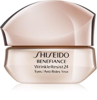 Shiseido Benefiance WrinkleResist24 Intensive Eye Contour Cream intenzív szemkörnyékápoló krém a ráncok ellen